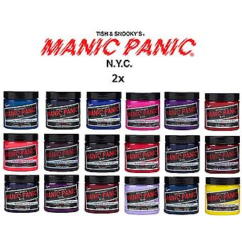 2 x Manic Panic High Voltage Hair Color Various Colours