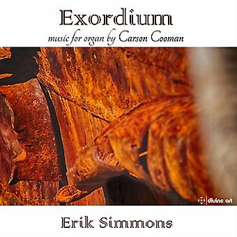 Cooman / Simmons - Organ Music by Carson Cooman [CD] USA import