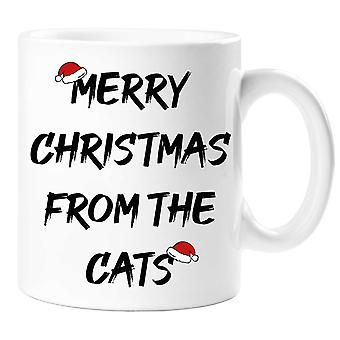 Merry Christmas From The Cats Mug