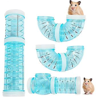 Small animal habitat accessories external connection tunnel for hamster caliber 5.5 Hamster tube tunnel tower tower  varied diy game