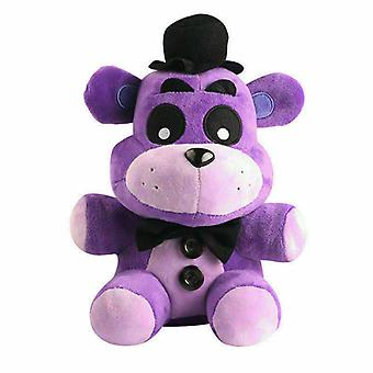 Nights At Freddys Purple Shadow And Gold Bear Plush Doll Toy