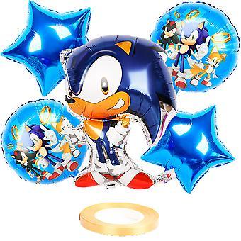 Sonic The Hedgehog Party Ballon Set Kinder Geburtstag Dekoration Ballon