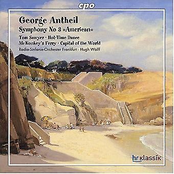 G. Antheil - George Antheil: Symphony No. 3 American [CD] USA import