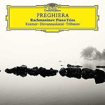 Kremer/Trifonov/Dirv - Preghiera-Rachmani [CD] USA import