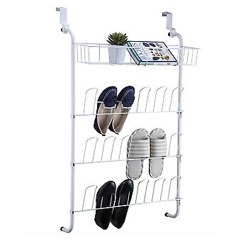 OnDisplay Over-the-Door Shoe Rack and Bin