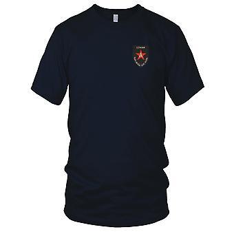ARVN Marines A Brigade Thuy Quan Luc Chien - militære emblemer Vietnamkrigen brodert Patch - Mens T-skjorte