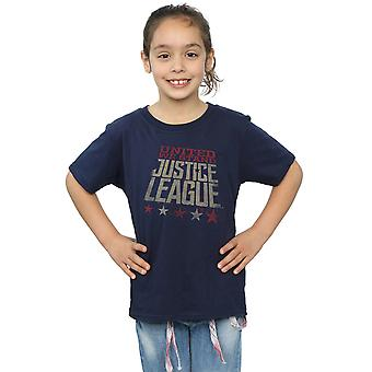 DC Comics Girls Justice League Movie United We Stand T-Shirt