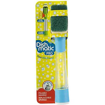 NEW Dishmatic Pro S Premium Washing Up Brush - LIMITED TIME ONLY from Caraselle - Colours May Vary