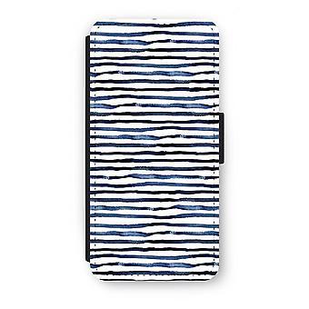 Samsung Galaxy S7 Flip Case - überraschende Linien