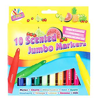 ArtBox Scented Thick Jumbo Markers (Pack Of 8)