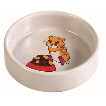 Trixie Ceramic Bowl Food/Water (Small pets , Cage Accessories , Food & Water Dispensers)