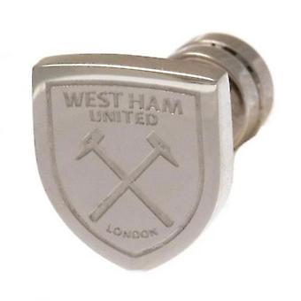 West Ham United ausgeschnitten Stud-Ohrring