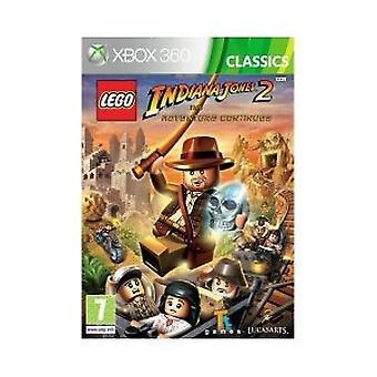 LEGO Indiana Jones 2 Eventyret fortsætter-klassikere (Xbox 360)-fabriks forseglet