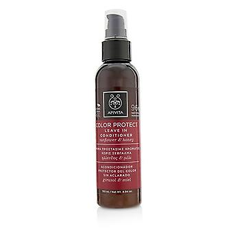 Apivita Color Protect Leave In Conditioner With Sunflower & Honey - 150ml/4.94oz