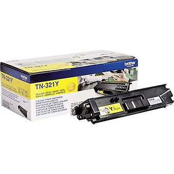 Brother Toner cartridge TN-321Y TN321Y Original Yellow 1500 Kanten