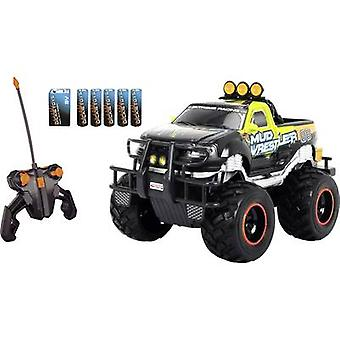 Dickie Toys 201119455 Ford F150 Mud Wrestler 1:16 RC model car for beginners Electric Monster truck RWD