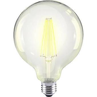 Sygonix LED (monochroom) EEC A++ (A++ - E) E27 Globe 12 W = 98 W Warm wit (Ø x L) 95 mm x 135 mm Filament 1 pc(s)