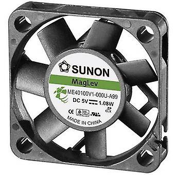 SUNON ME40100V1-000U-A99 aksiaalinen tuuletin 5 V DC 13,59 m³/h (L x p x k) 40 x 40 x 10 mm