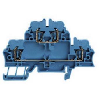 Weidmüller 1678630000 ZDK 2.5 BL 0,5 - 2,5 mm² sininen
