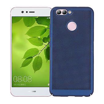 Mobile Shell voor Huawei Y3 2017 mouw zaak tas cover case blauw
