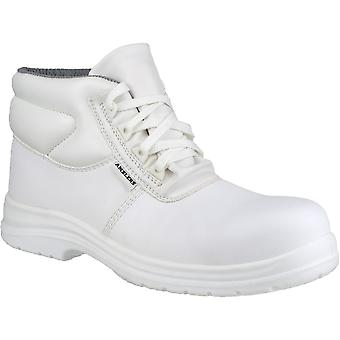 أمبليرس سلامة FS513 رجالي السلامة للماء الأبيض أحذية بيضاء