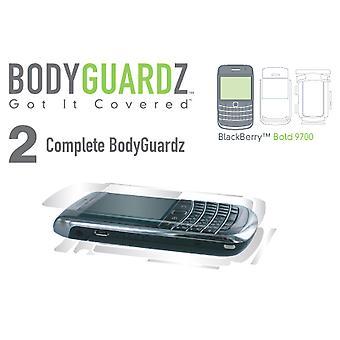 Blackberry 9700 (Body & Screen) için BodyGuardz Ekran Koruyucusu