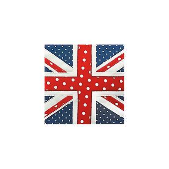Union Jack Britse vlag - Union Jack - verjaardagskaart dragen