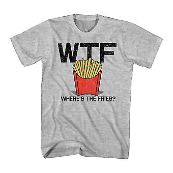 Humor Fries Men's Athletic Heather Funny T-shirt