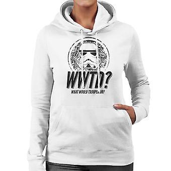 Original Stormtrooper What Would Trooper Do Women's Hooded Sweatshirt