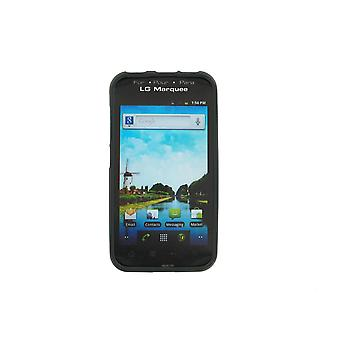 Rubberized Case Compatible with LG LS855 (Black)