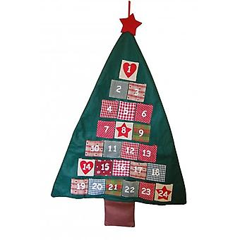 Heaven Sends Christmas Decoration Fabric Tree Advent Calendar