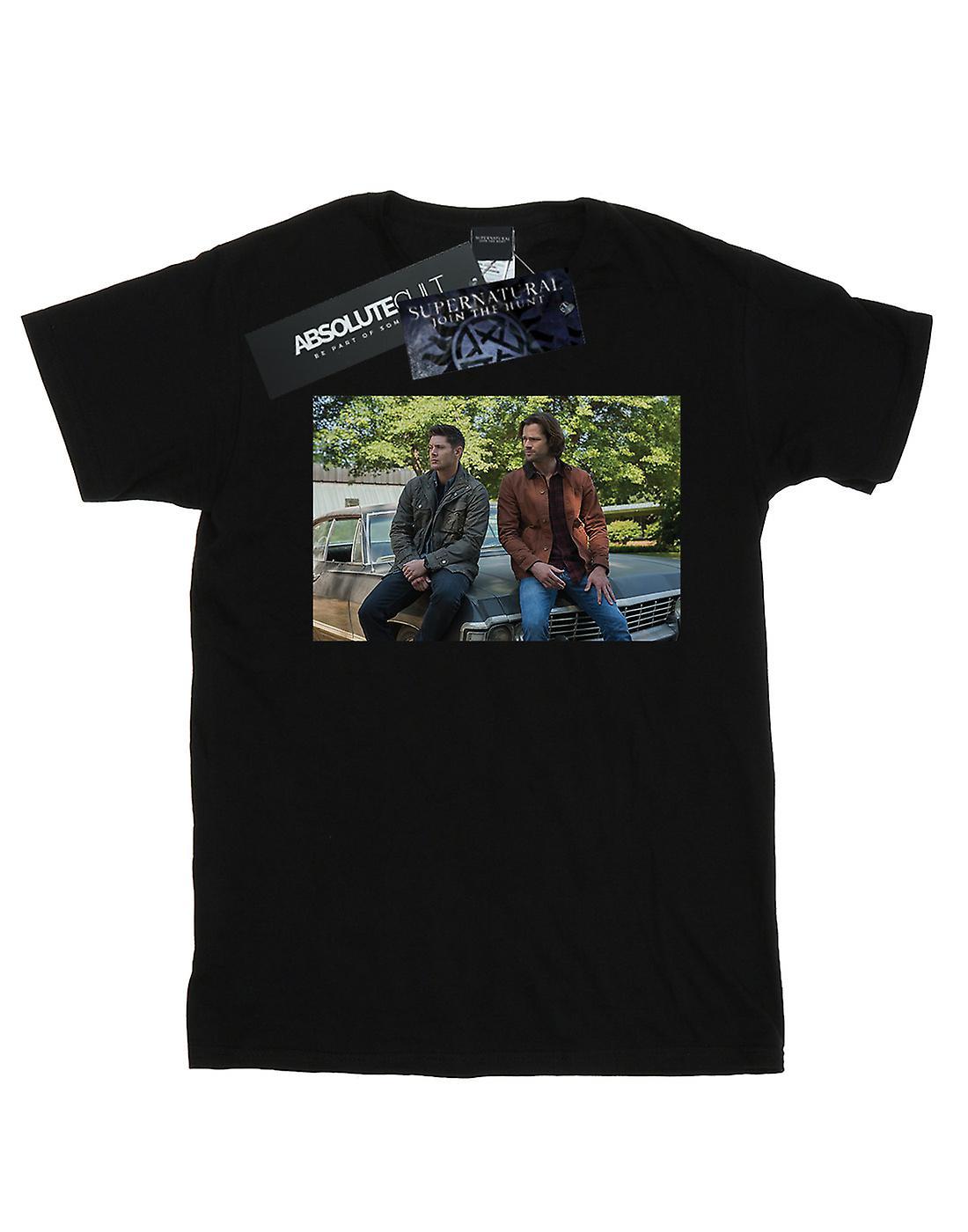 Supernatural Women's Impala Brothers Boyfriend Fit T-Shirt