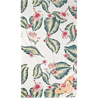 Roxy Hazy Ręcznik plażowy w jasny biały tropica