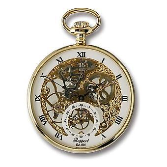 RapPort London Pocket Watch mechanical open face Pocket Watch PW88