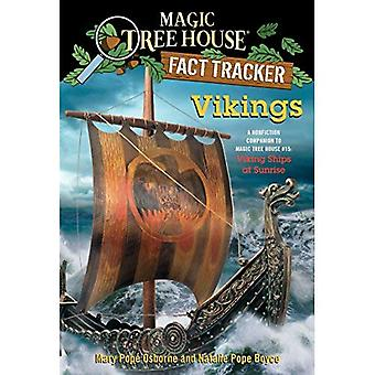 Traqueur de fait Magic Tree House #33 : Vikings : un compagnon de Nonfiction à Magic Tree House #15 : navires Viking au lever du soleil...