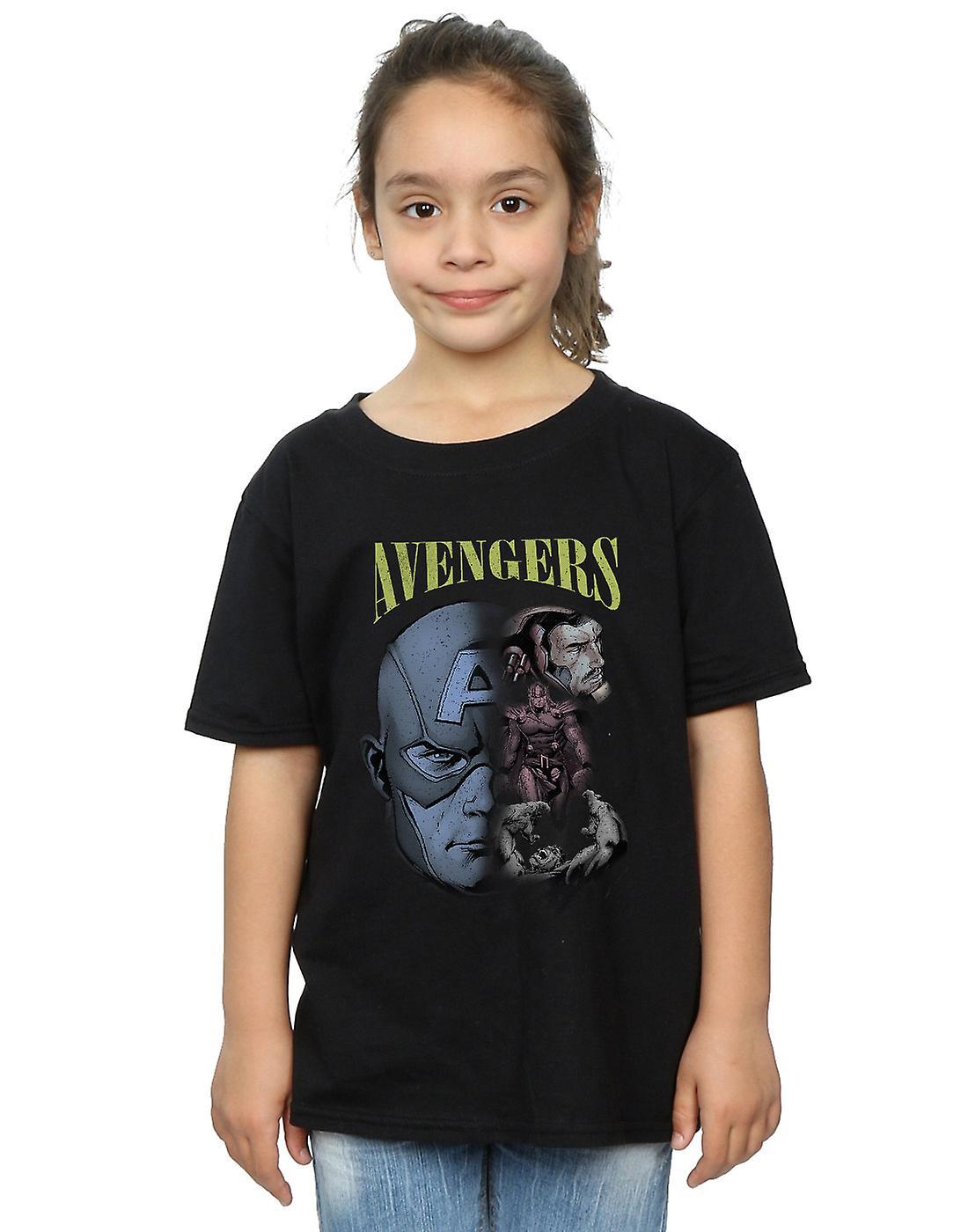 Marvel Girls Avengers Homage T-Shirt