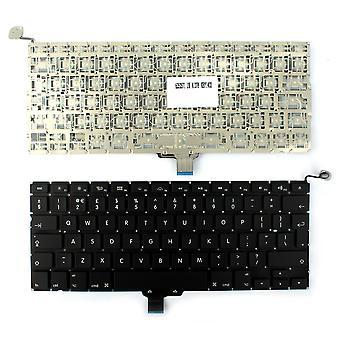 Apple MacBook Pro MB467 versión retroiluminada (sin tablero retroiluminado) Reino Unido negro diseño repuesto teclado de portátil