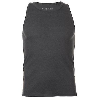 Pierre Cardin heren geribbeld Vest zonder mouwen Tank Top T-Shirt T Shirt