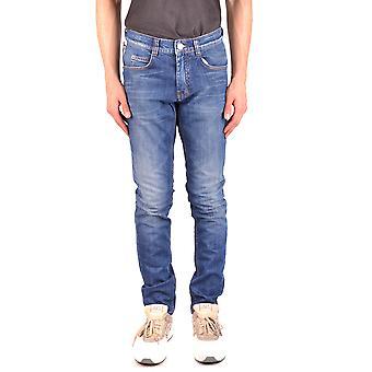 Frankie Morello Ezbc167003 Men's Blue Denim Jeans