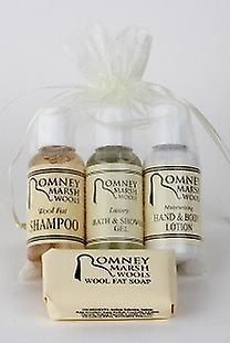 Travel Toiletries Gift Set- H&B Lotion, Shampoo + Soap