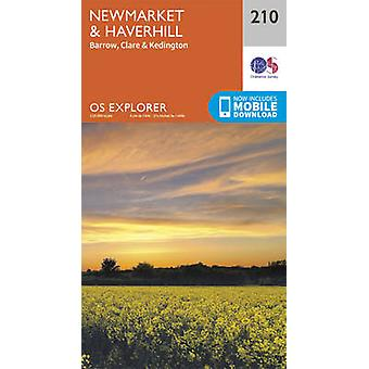 Newmarket and Haverhill - Barrow - Clare and Kedington by Ordnance Su