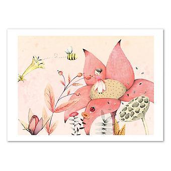 Art-Poster - Thumbelina - Judith Loske 50 x 70 cm