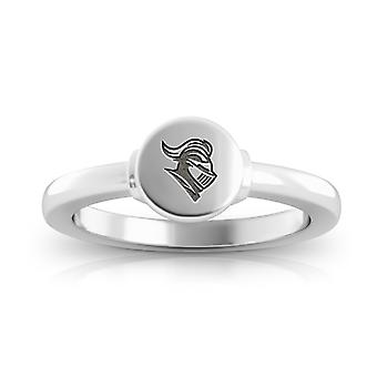 Rutgers University Engraved Sterling Silver Signet Ring