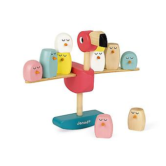Janod Wooden Flamingo Balancing Game 3-6 years