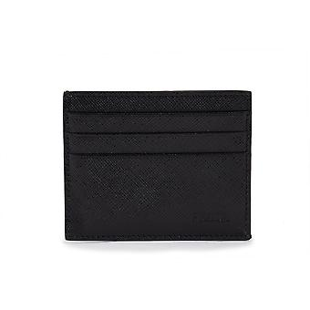 Prada Black Saffiano Leather Card Holder 2MC223 053 F0002