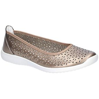 Flota y foster mujeres Anne Slip On Zapato Bronce