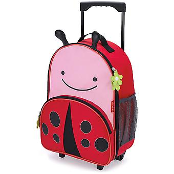 Skip Hop Zoo Luggage Kids Rolling Suitcase