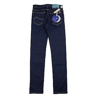 Jacob Cohen J688 Himmel blau Patch Jeans Dark Indigo