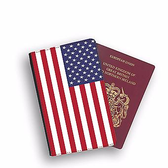 UNITED STATES OF AMERICA Flag Passport Holder Style Case Cover Protective Wallet Flags design