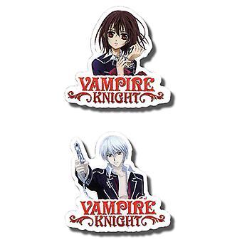 Pin Set - Vampire Knight - New Zero & Yuki (Set Of 2 )Anime Licensed ge6743